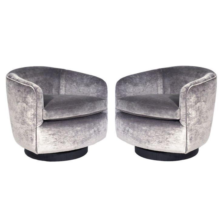 elegant swivel tub chair by milo baughman | tub chair, tubs and