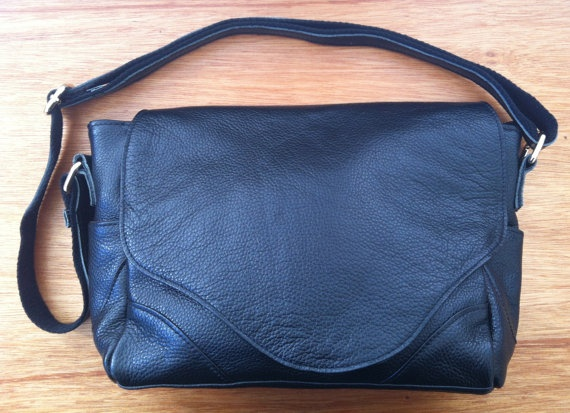 Lily Deco Leather Handbag on Etsy, $235.00