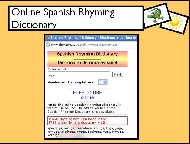 I Teach Dual Language: Talking Rhyme with Dallas ISD