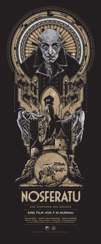 nosferatu poster by ken taylor