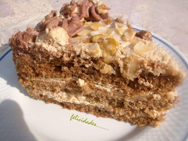imprime la receta Hoy dia 1 de mayo..mi marido a cumplido años..y mi regalo ha sido este pastel.. pienso que es un buen regalo...no todo ...