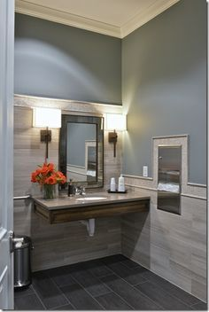 Find This Pin And More On Commercial Bathroom By Sallygaehle.