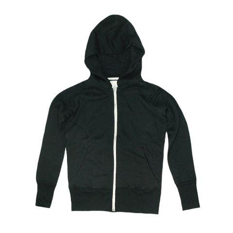 em + west women's fleece hoody