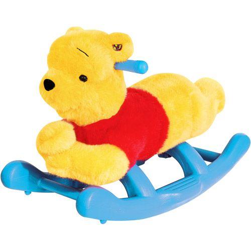 Kiddieland - Disney Winnie the Pooh Plush Rocker: Baby Gear : Walmart.com $18