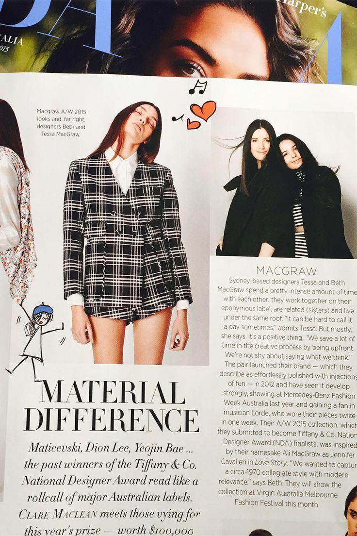 Harper's Bazaar April 2015   macgraw