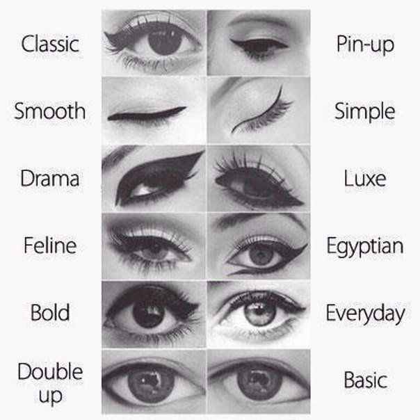 Instructions for women for all occasions. #How to #make #up your #eyes