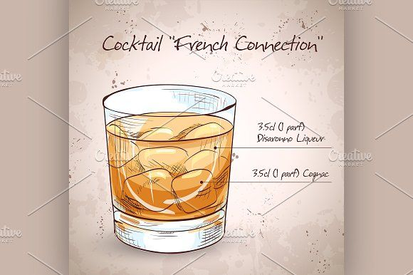 French Connection Cocktail French Cognac Cocktails Bar Pics