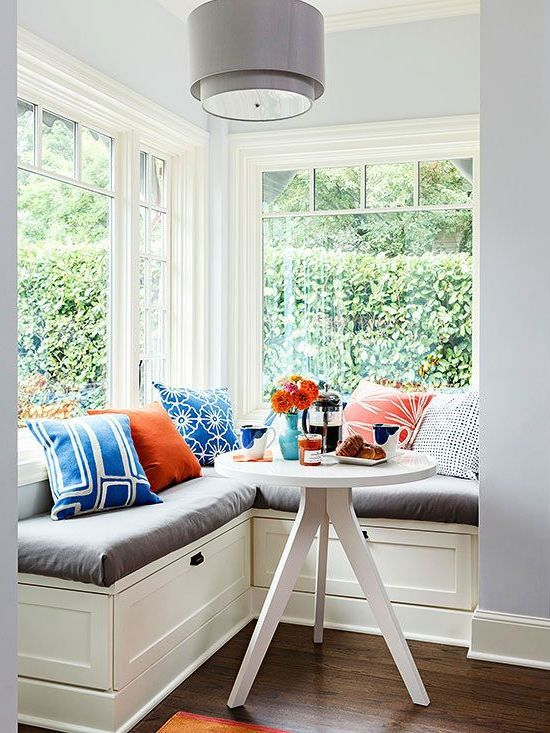best 25 small breakfast nooks ideas on pinterest transitional seat cushions kitchen corner. Black Bedroom Furniture Sets. Home Design Ideas