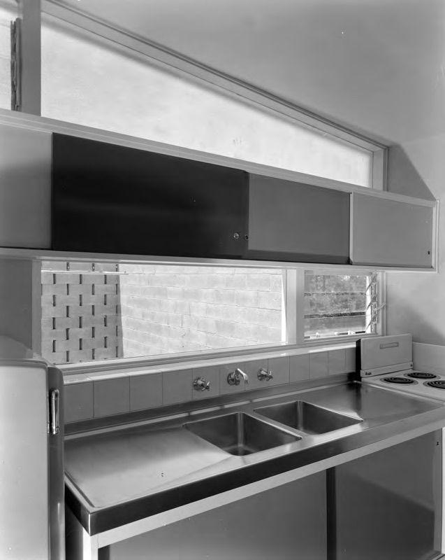 Exley House   Harry Seidler #kitchen #original