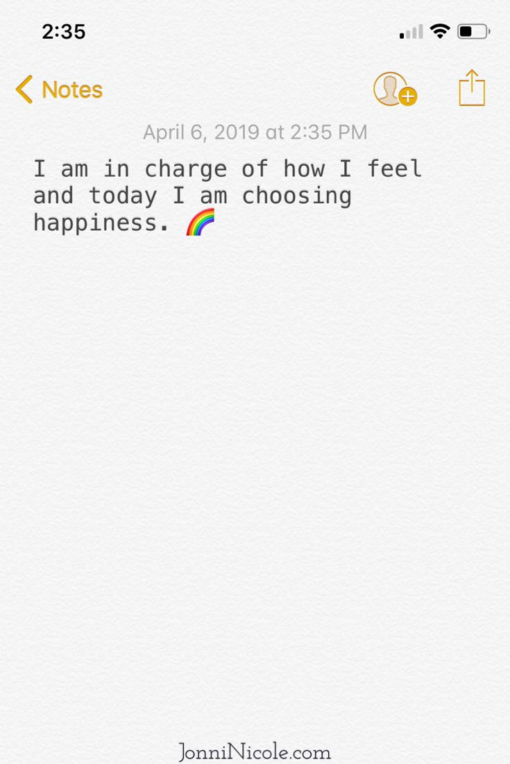 Today I'm choosing happiness 🌈
