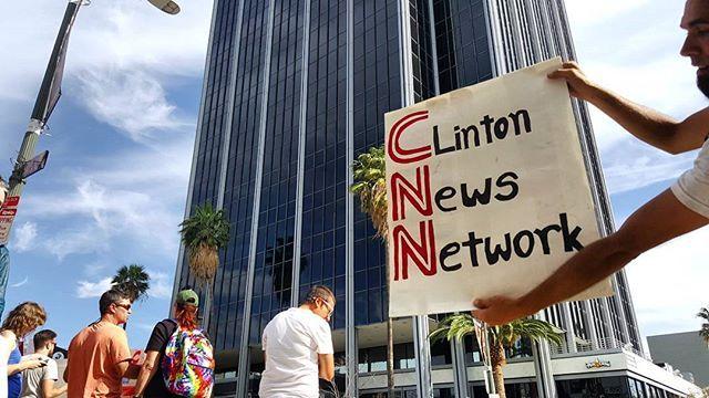 CNN = Clinton News Network vs protesters #OccupyCNN