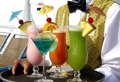 Carnival Cheers program is the beverage package of Carnival Cruise Lines, currently depending on cruise length. It includes up to 15 alcoholic drinks and unlimited soda.