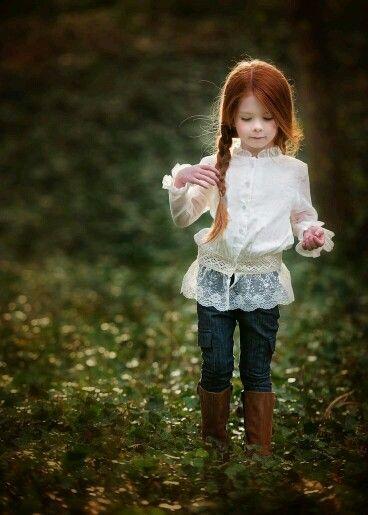 mały , piękny rudzielec....