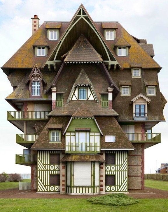 Impossible architecture by Filip Dujardin via www.Facebook.com/DesignBoomNews