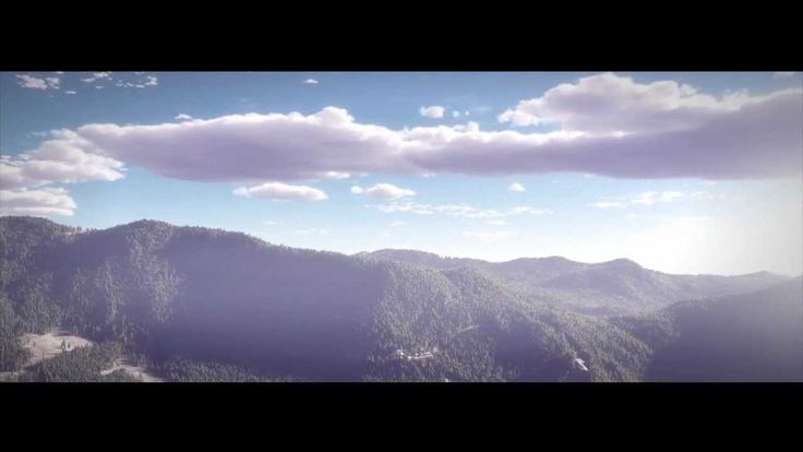 3D Clouds and Atmosphere Animation using e-on software Vue and After eff...