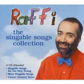 every preschool classroom needs a little Raffi