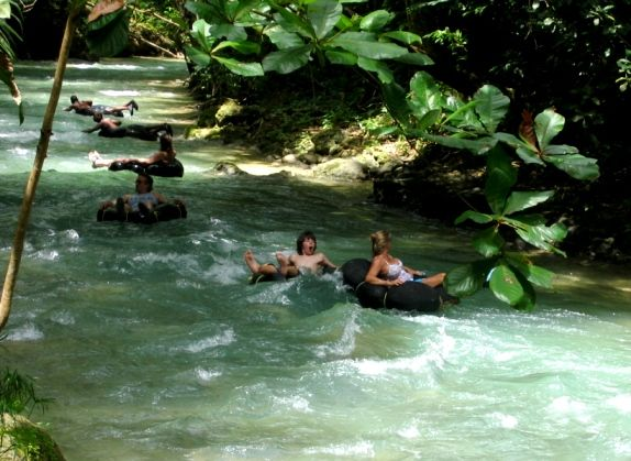 Falmouth Jamaica - River Tubing and Dunn's River Falls tour from Falmouth, Trelawny and Rio Bueno