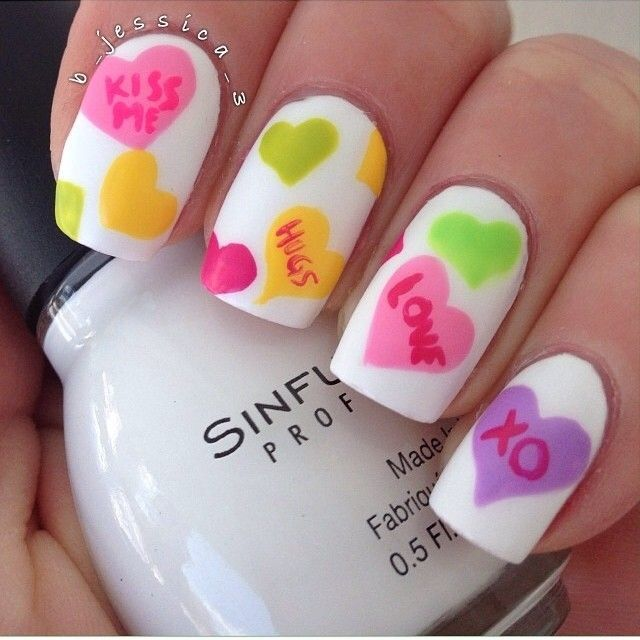 11 best Love Designs Nail Art Trends images by ABBIE REED on ...