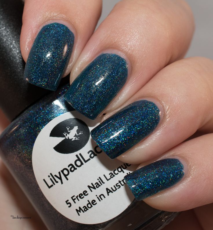 Lacky Corner: Lilypad Lacquer - Deep Blue Lagoon