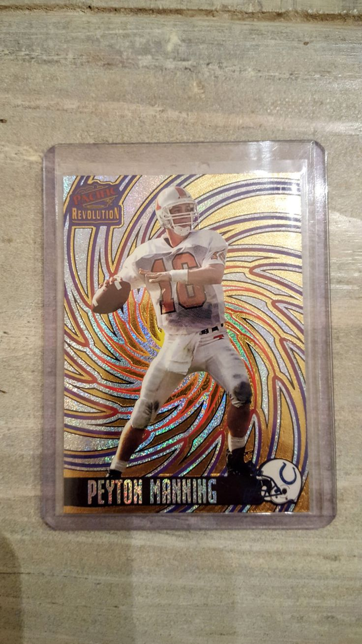 Peyton Manning Rookie Card! Denver Broncos, Indianapolis Colts, Tennessee Vols, NFL Football Cards by BBSportscards on Etsy