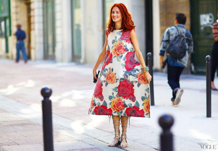 Taylor Tomasi Hill is the artistic director with Moda Operandi. The gown: Rei Kawakubo.