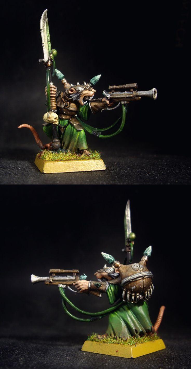 Skaven Warlock Engineer of Clan Skyres