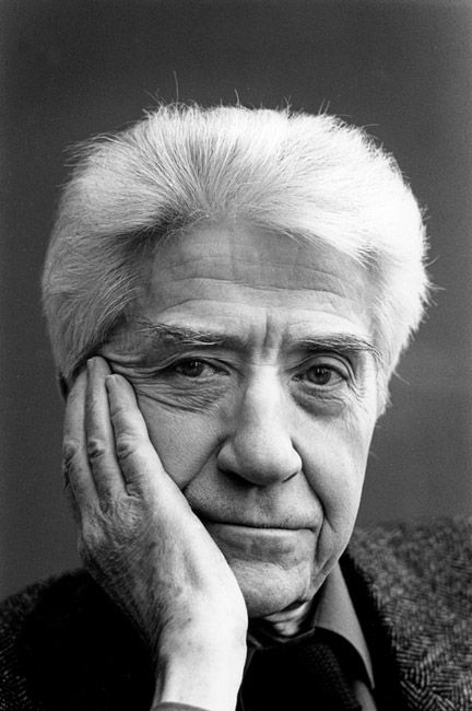 Alain Resnais (1922-2014) - French film director. Photo by Bertrand Carrière