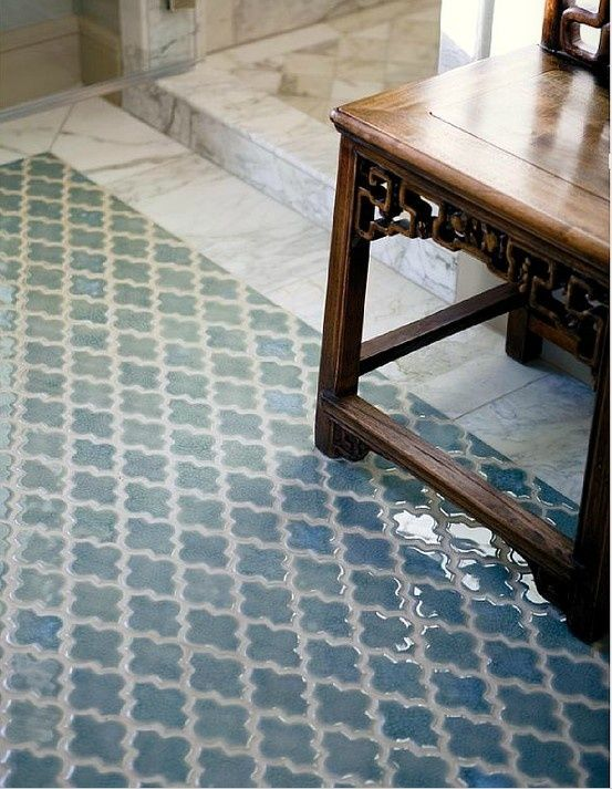 Lovely Moroccan tiles. Need I say more? #Moroccan #Tiles #Zellij.