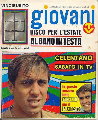 Adriano Celentano (giornale GIOVANI)