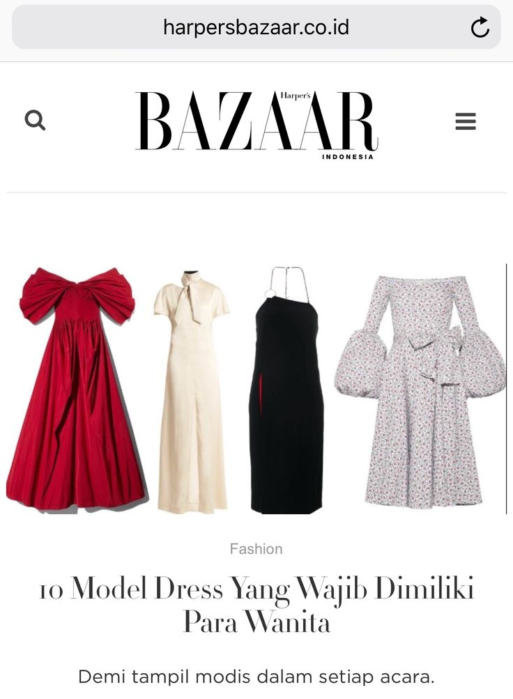 curated and translated by me - article for Harper's Bazaar website