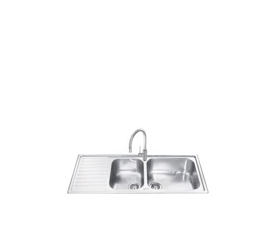 LG116 Double Bowl Sink Inset