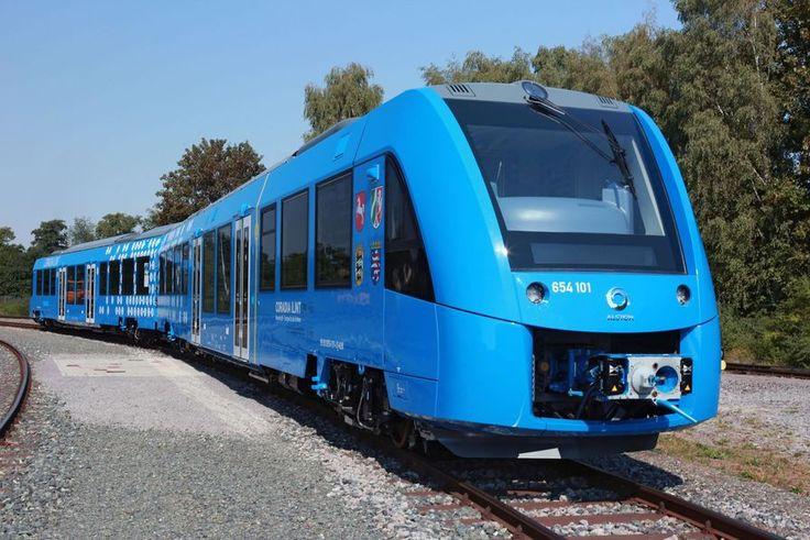 Alstom teste le premier train à hydrogène en conditions réelles