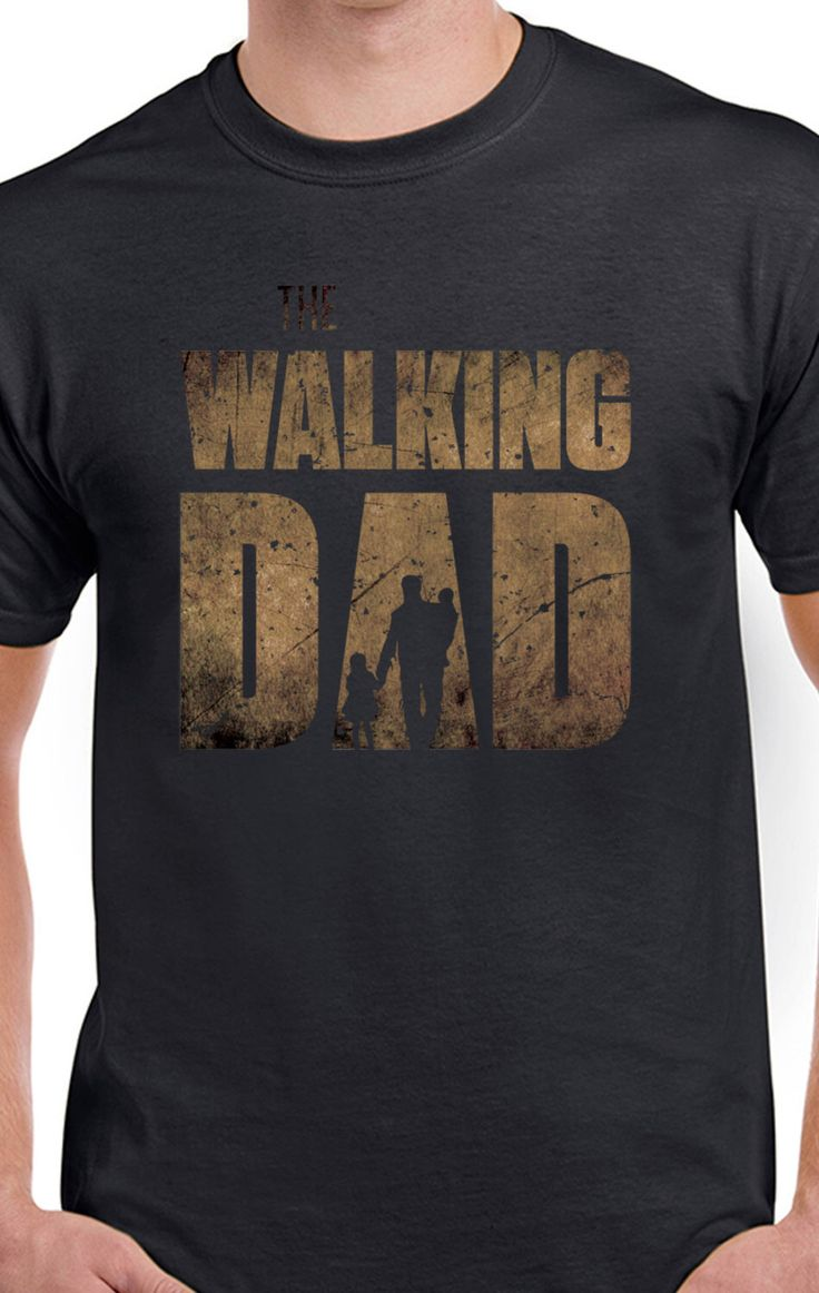 """The Walking Dad"" inspired by non other than The Walking Dead."