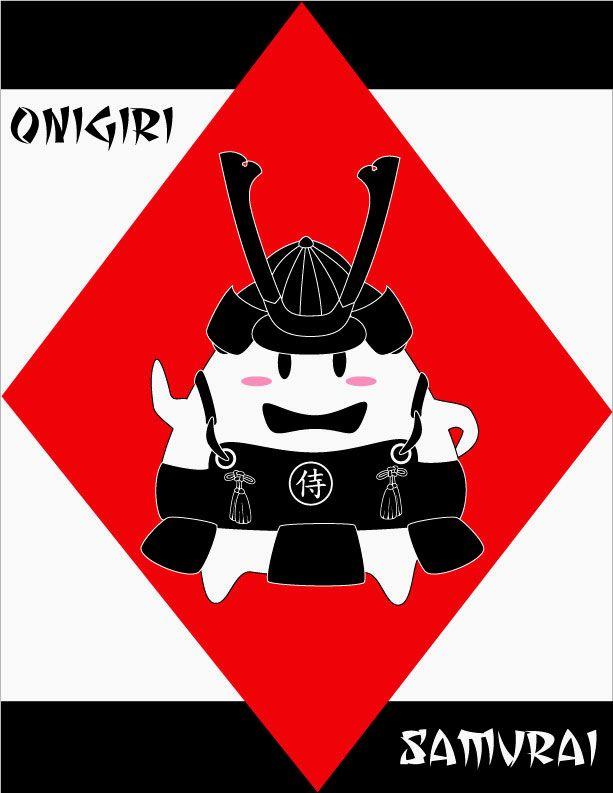 Onigiri Samurai by runninwild04
