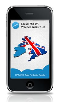 Skill Testing iPhone App  A multiple choice based, timed, touch interactive iphone app for Life in the UK Tests.