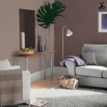"""For the rest of the walls in my bedroom - Dulux """"dusted damson"""""""