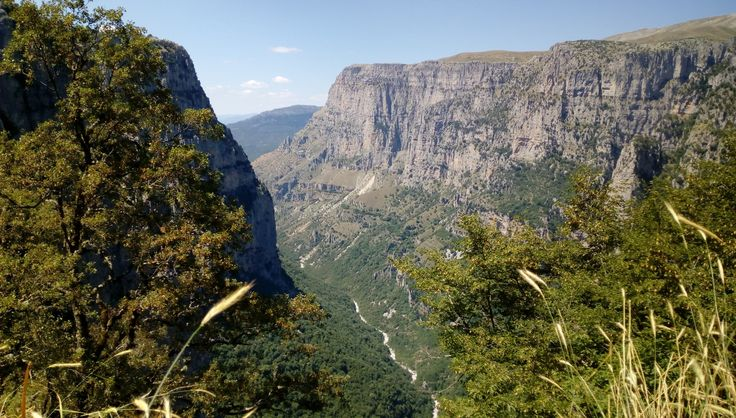 Vikos Gorge: the worlds deepest canyon is definitely a must-see... READ THE BLOG! #blog #vikos #Greece #canyon