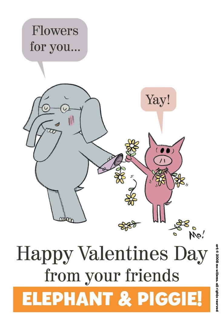 Valentine 39 s Greetings from Elephant