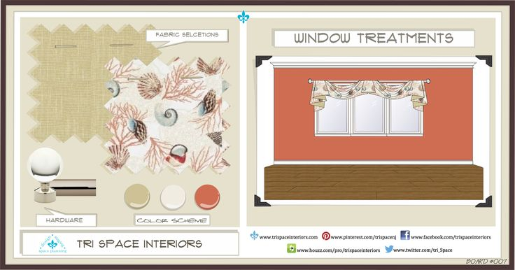 #Summer #Beach #SeaShells #Tropical #Fun #WindowTreatment #Pink #Taupe #Coral #Swags #Rod #White #PaleBlue #Tan #Sea #Ocean #Accessories #SimpleButElegant #Adult #Bedroom #Windows #Treatments #Makeovers #triSpaceinteriors #Love #Custom #Fabrics #Bedding #Cozy #Transitional #Board007