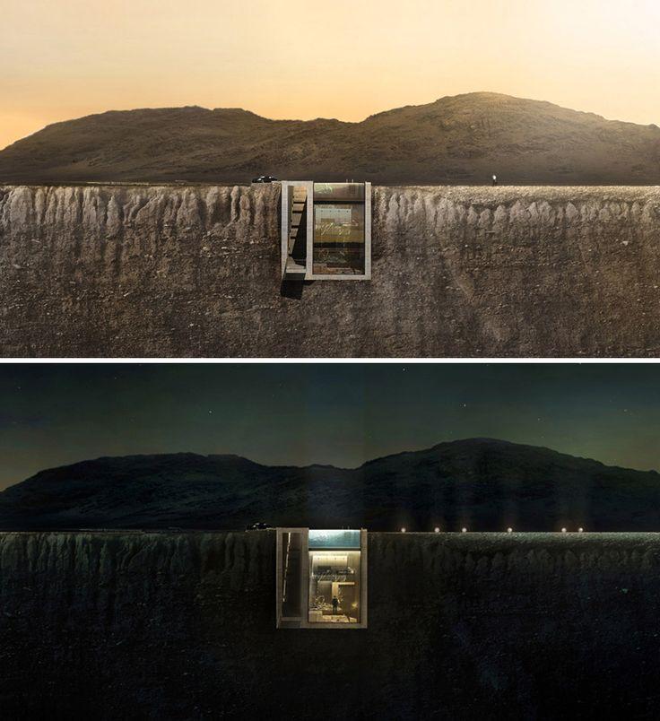 OPA casa brutale conceptual residence aegean sea greece designboom