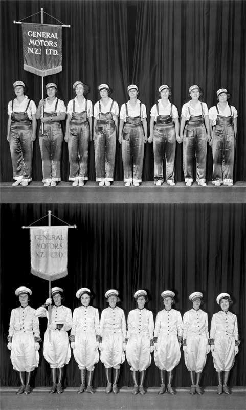 General Motors marching teams