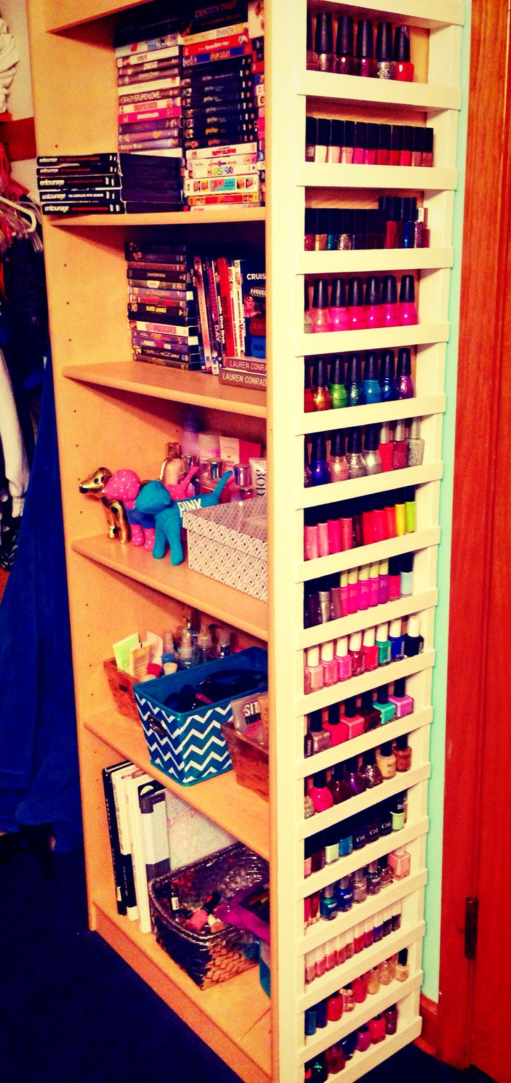 17 best ideas about nail polish racks on pinterest. Black Bedroom Furniture Sets. Home Design Ideas