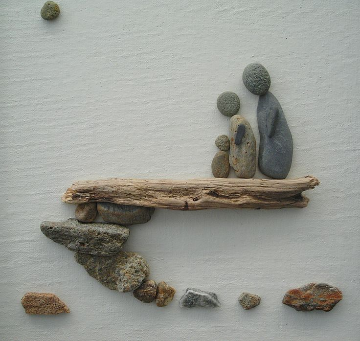 BABY FEET, Pebble/stone picture, Painting with pebble and drifwood, Baby shower, Personal gift, New parents, New arrival, Pebble art wall in  https://www.etsy.com/shop/GazeleHM?ref=l2-shopheader-name&section_id=20070020