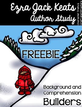 """Teach character traits and how characters respond to events while learning about the Ezra Jack Keats life and works. This sample uses the popular """"The Snowy Day"""" and the character of Peter. ***Continue the Ezra Jack Keats Author Study with this full unit***"""