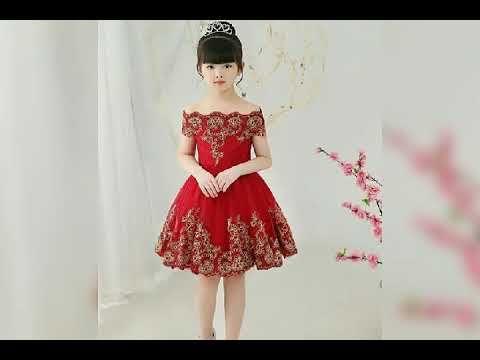 اجمل فساتين اطفال للافراح والمناسبات فساتين منفوشة للاعراس 2019 جديددد Youtube Kids Dress Dresses Youtube