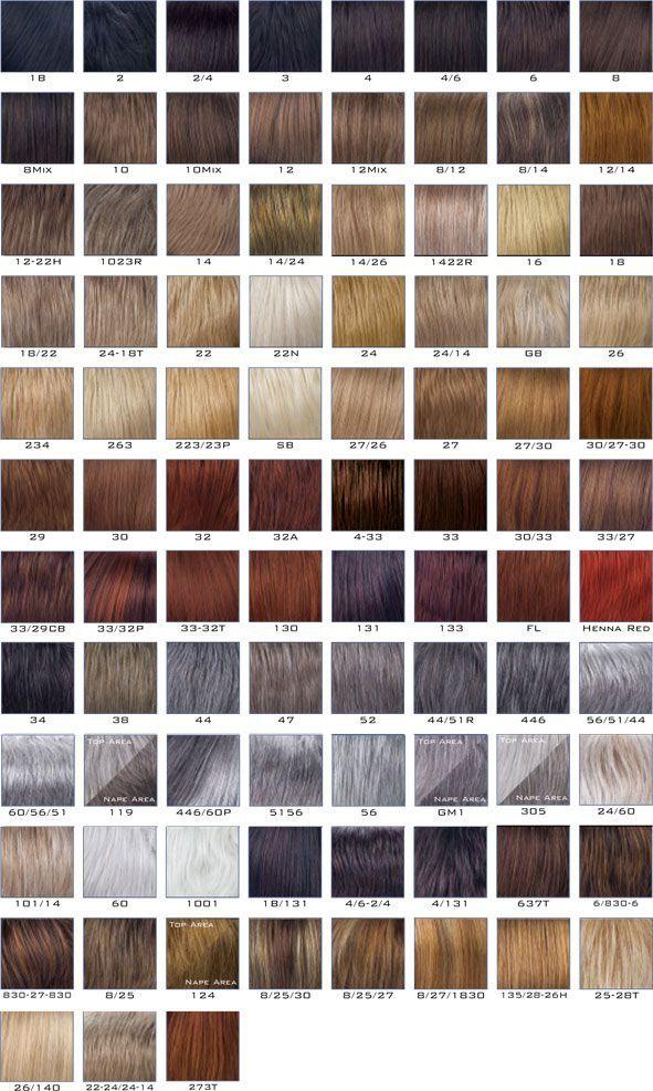 Nisa Nisa Hair Color Chart Revlon Hair Color Chart Hair Color