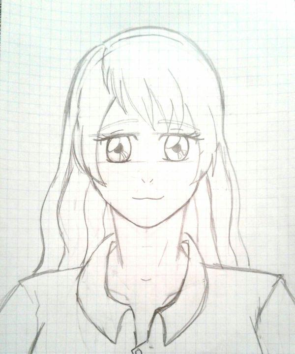 فصل تعليم رسم الانمي Art Anime Female Sketch