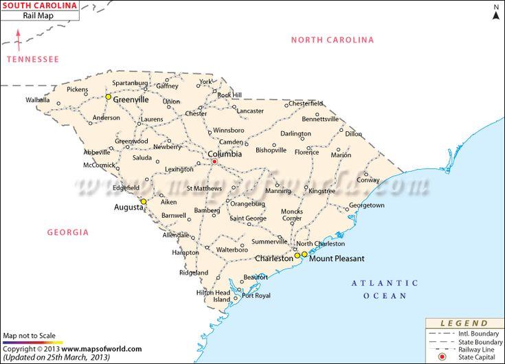 South Carolina City Map Books Worth Reading Pinterest City - South carolina map with cities