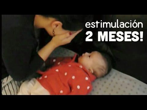 Actividades Bebé 2 meses - Estimulación Temprana - YouTube