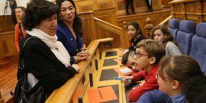 La Junta agradece a Aldeas Infantiles su empeño por trabajar en el fomento de valores en la escuela y la prevención de la violencia